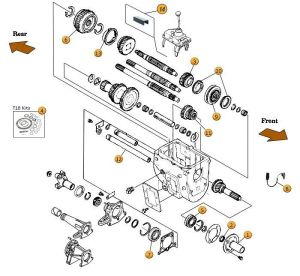 Interactive Diagram  Jeep CJ7 BWarner T18