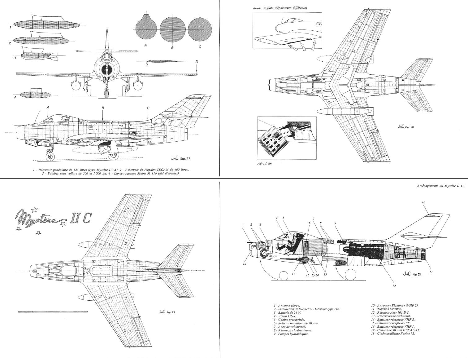 Md 452 Mystere Ii Planes