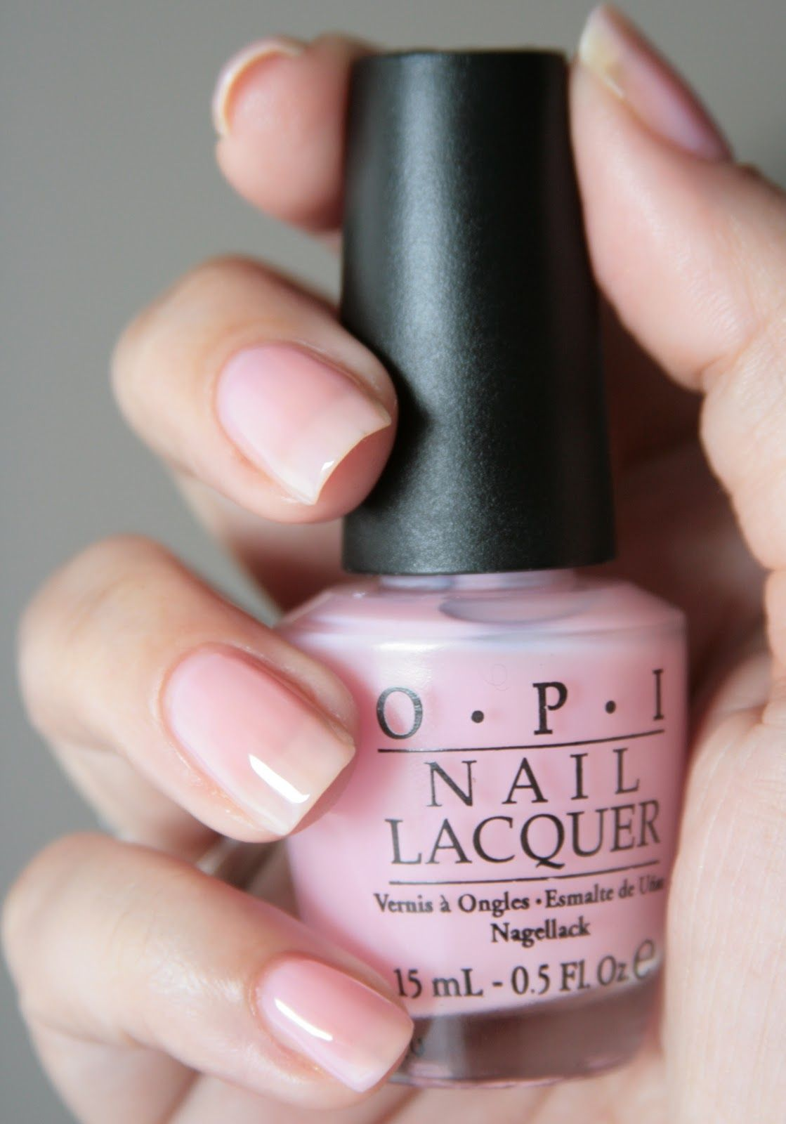 OPI In The SpotLight Pink love this color! As everyone
