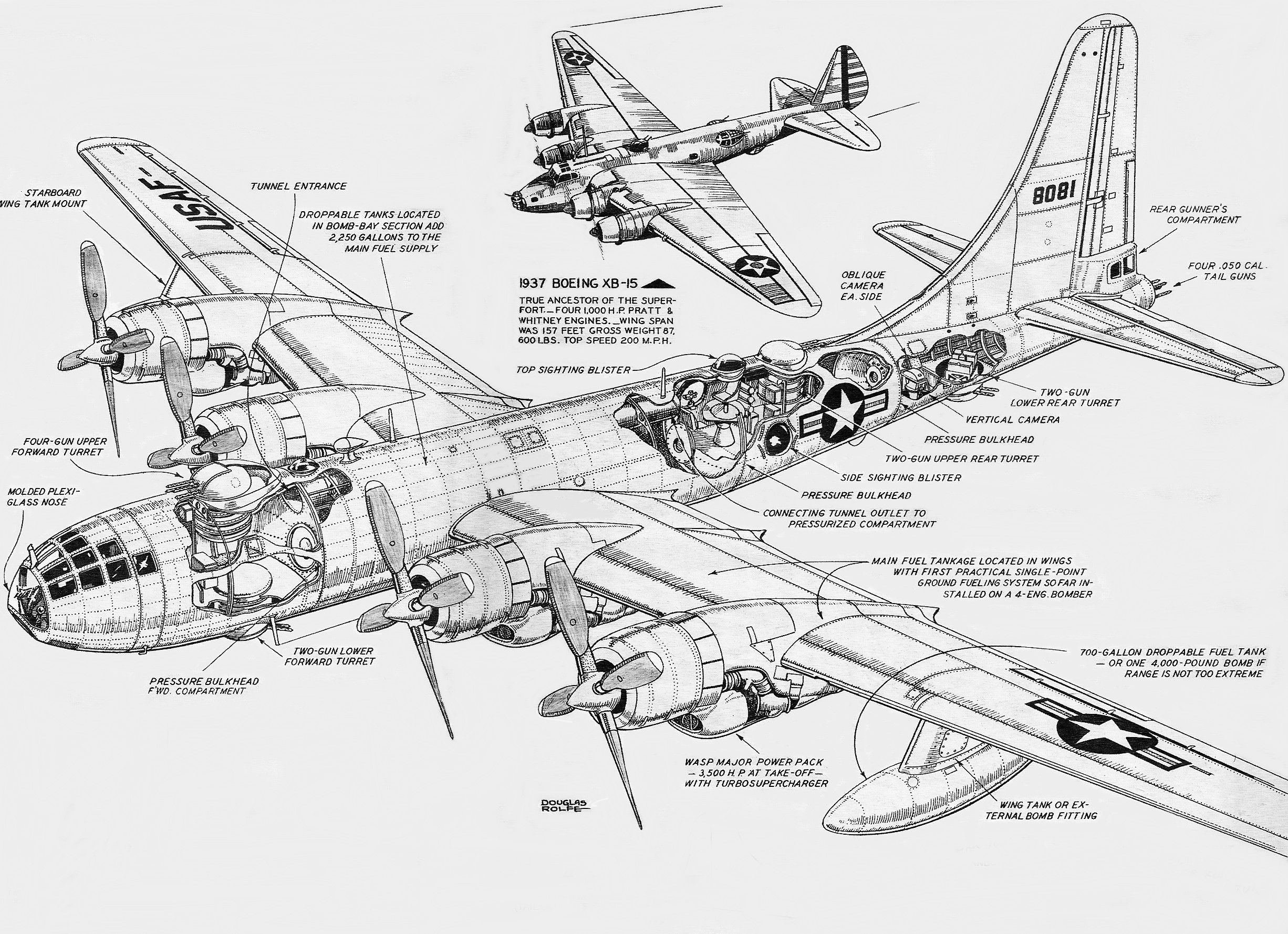 Boeing B50 Superfortress