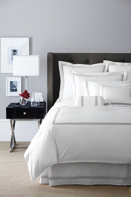 Grey Or Gray Bedroom Inspiration