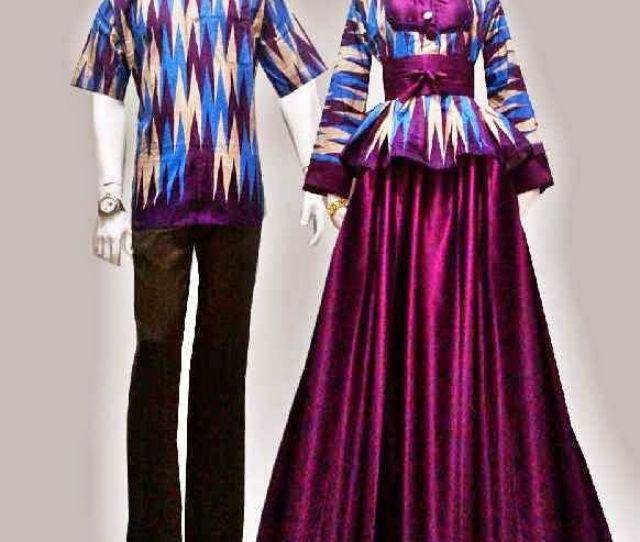 Model Baju Batik Gamis Motif Rang Rang Order