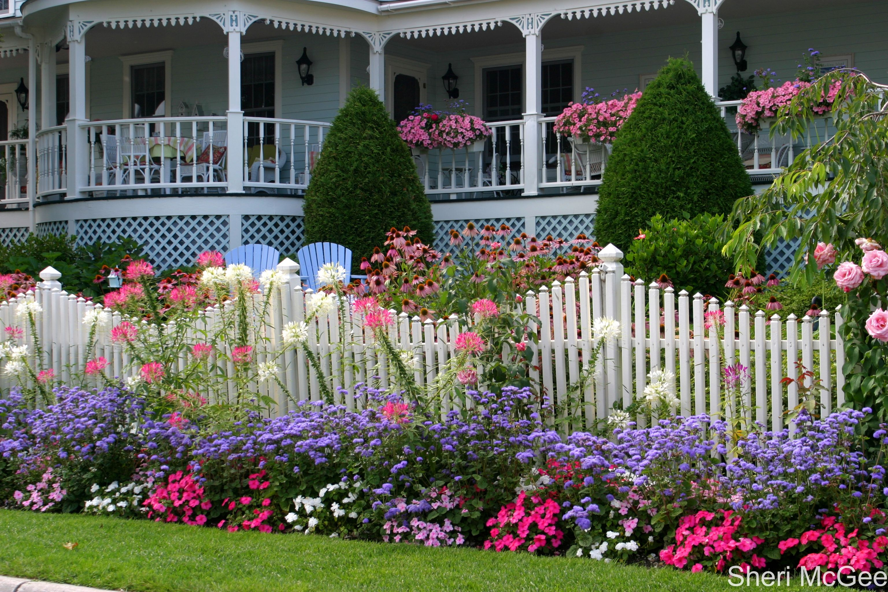 Mackinaw Island Metivier Inn Inspiration for a dimensional