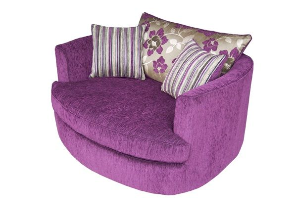 Cuddle Chair Pink Fuchsia Lauren Pictured In