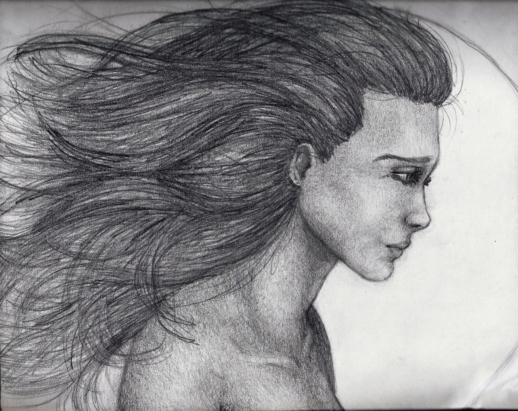 Dramatic pencil drawing Artwork Pinterest