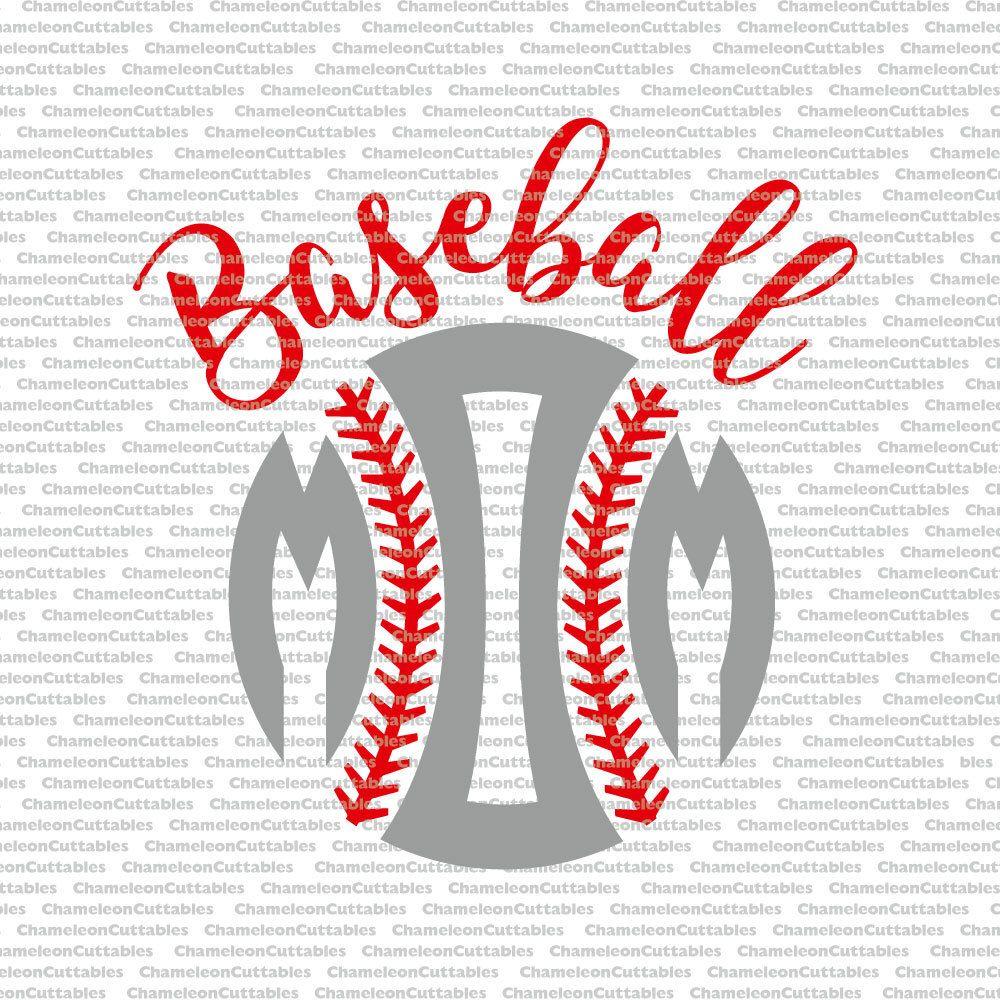 baseball mom, svg, cut, file, sports, sport, silhouette