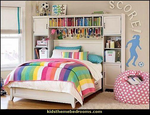Soccer Themed Bedroom For Girls