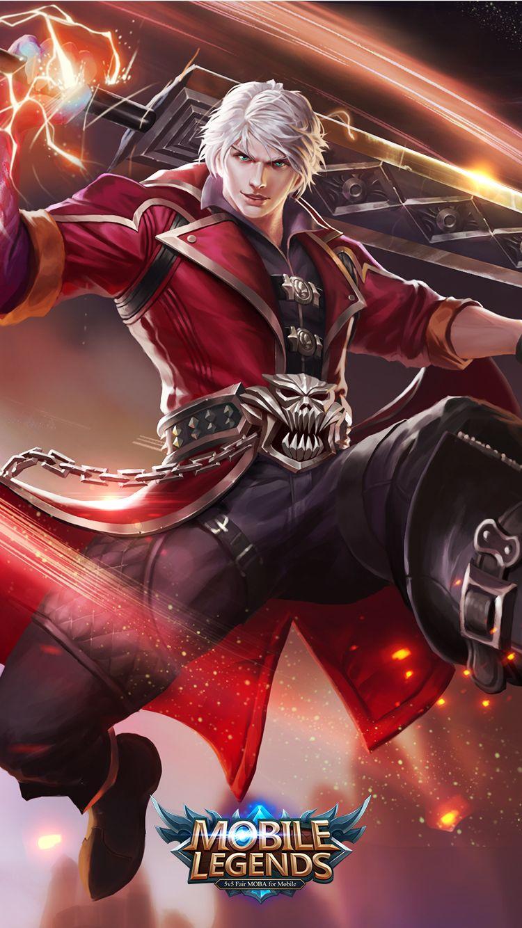 Mobile Legends Alucard Demon Hunter Mobile Legends