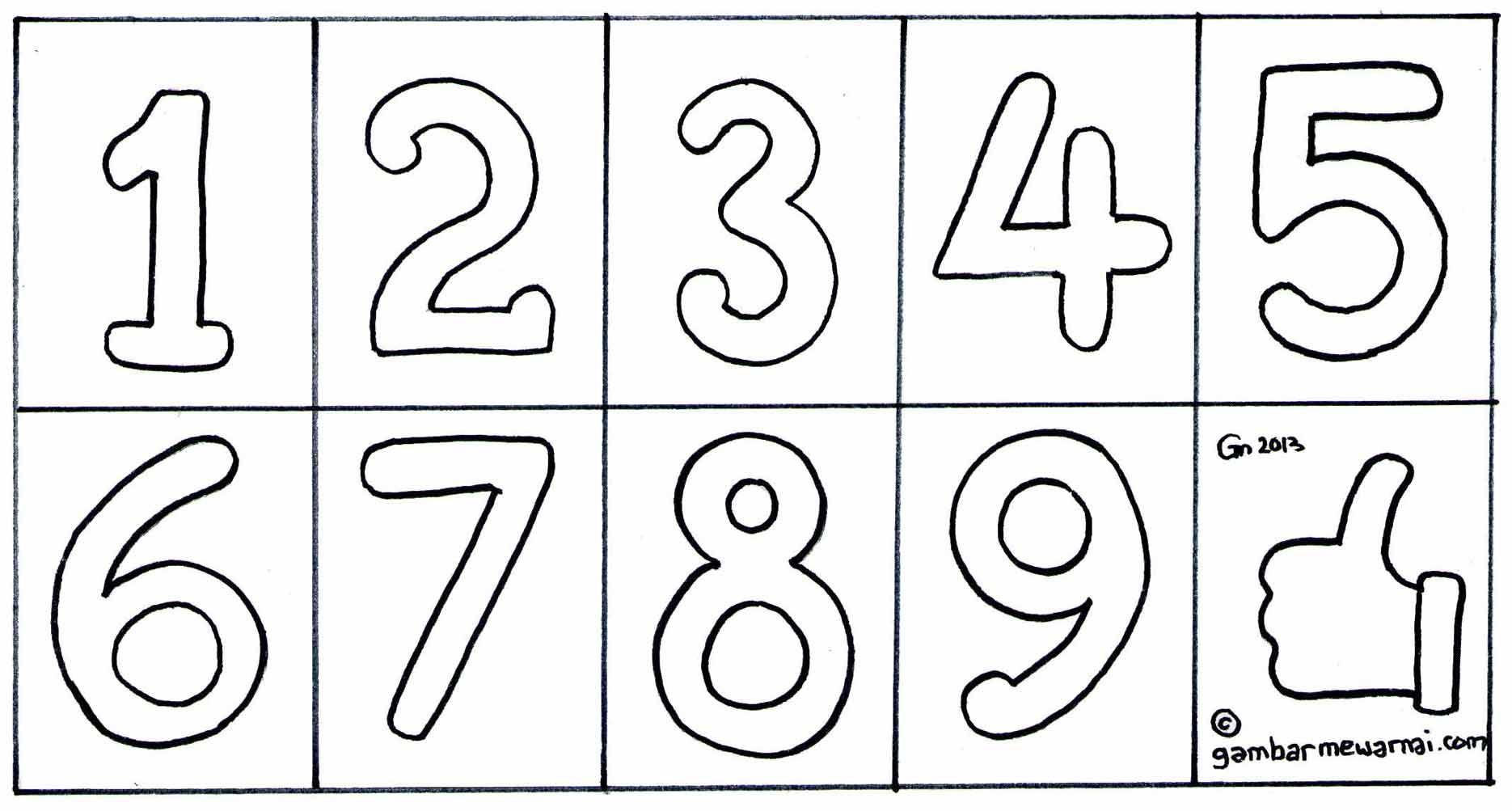 Siapa yang punya gambar titiktitik angka berhubungan
