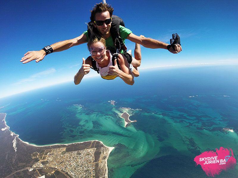 saut parachture australie