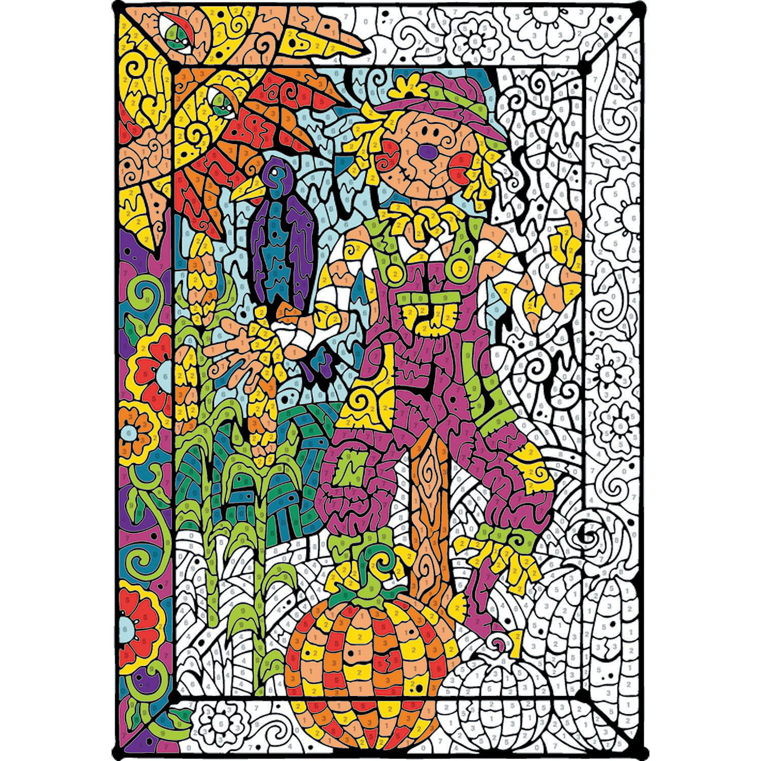 Color Counts Garden Creative Activities Coloring Books