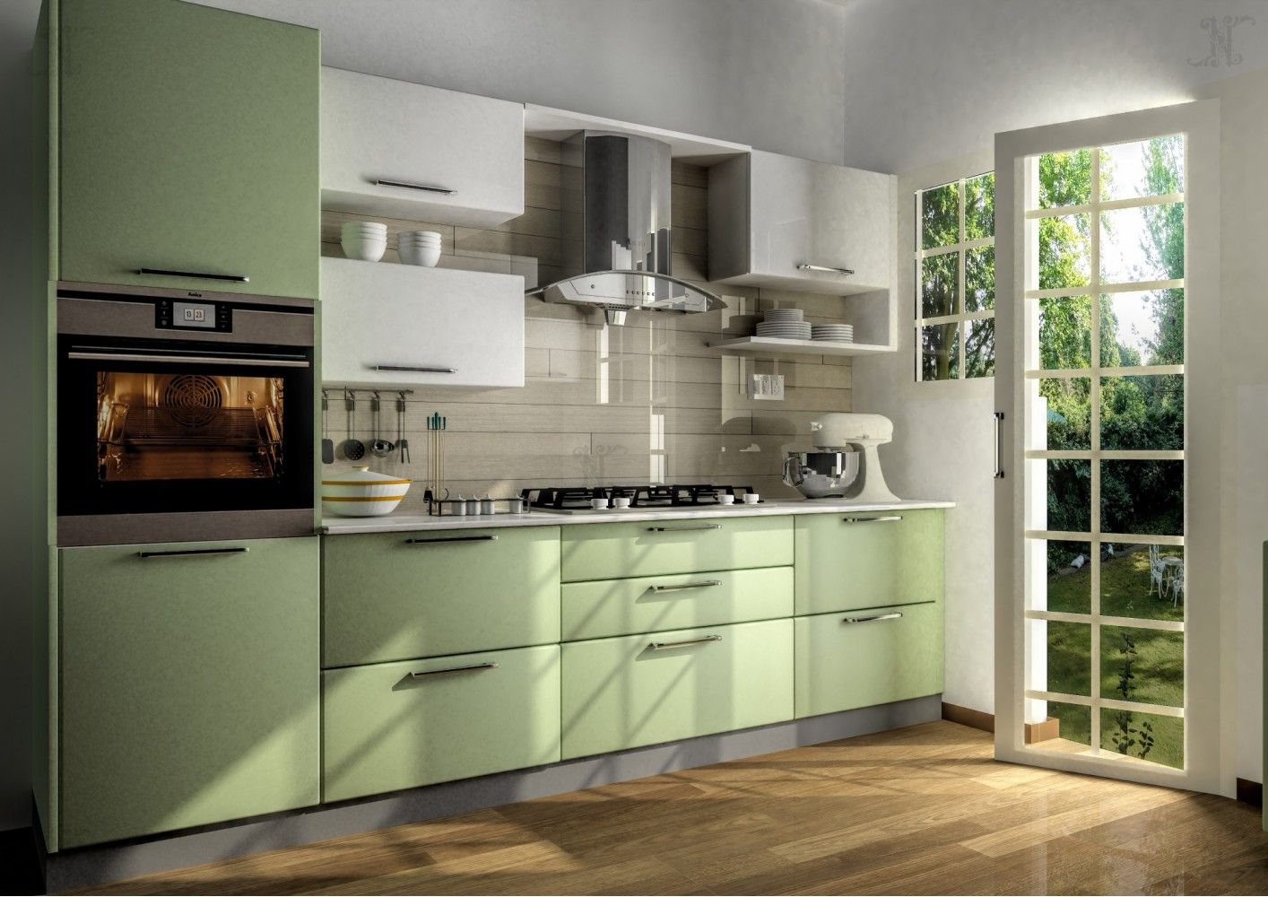 indian parallel kitchen interior design Google Search