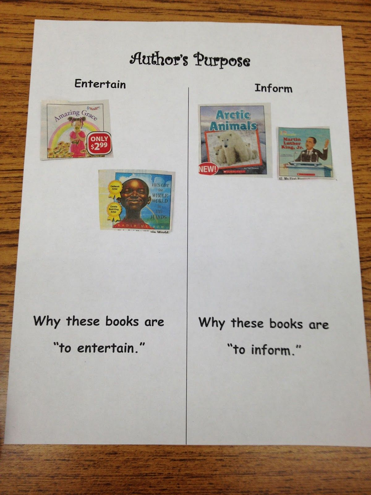 Scholastic Book Orders Author S Purpose