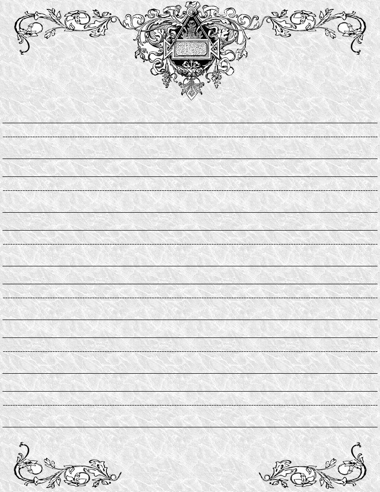 Doc500682 Print Lined Writing Paper lined writing paper – Free Printable Lined Writing Paper