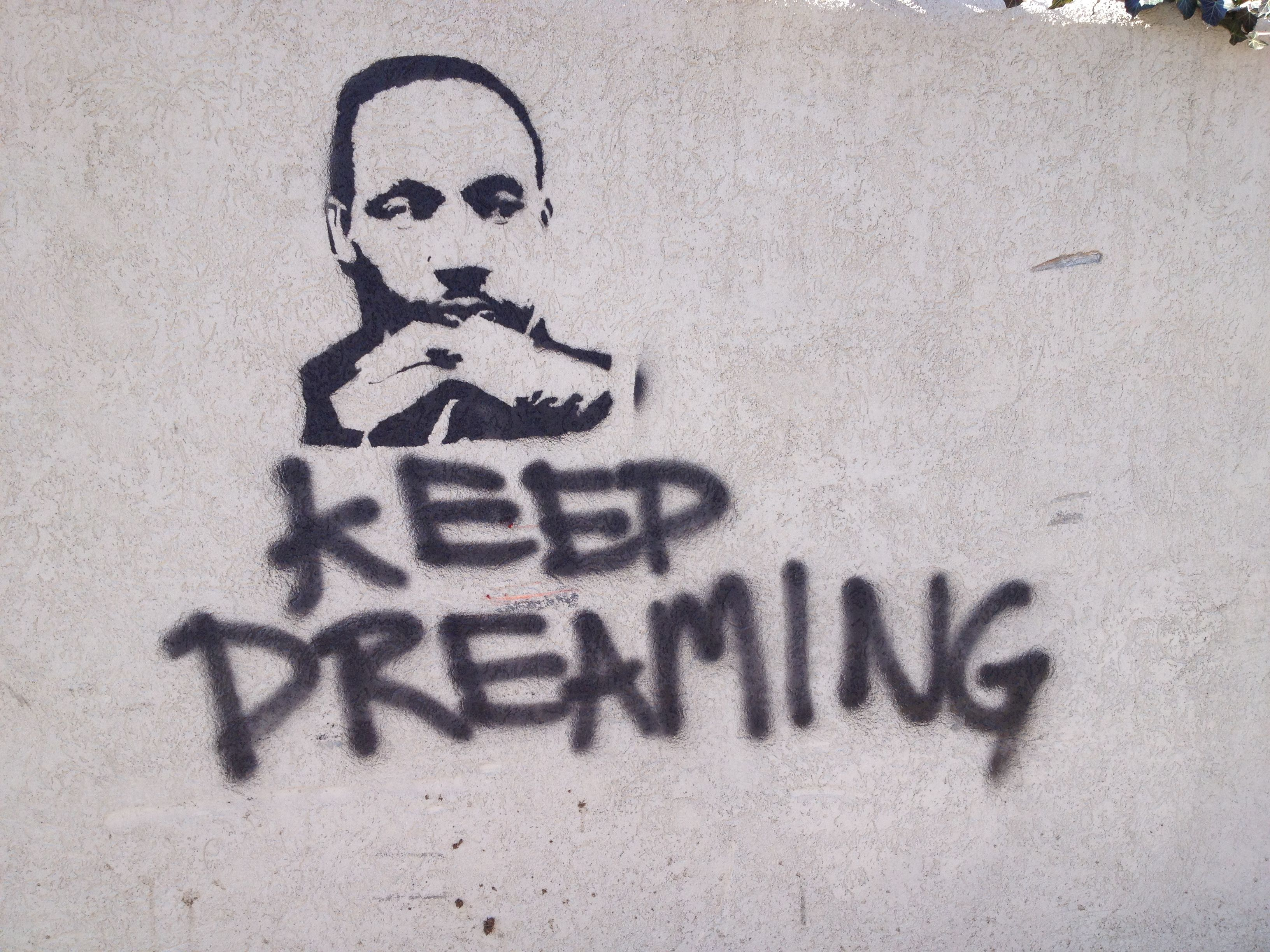 Martin Luther King Graffiti The Expert