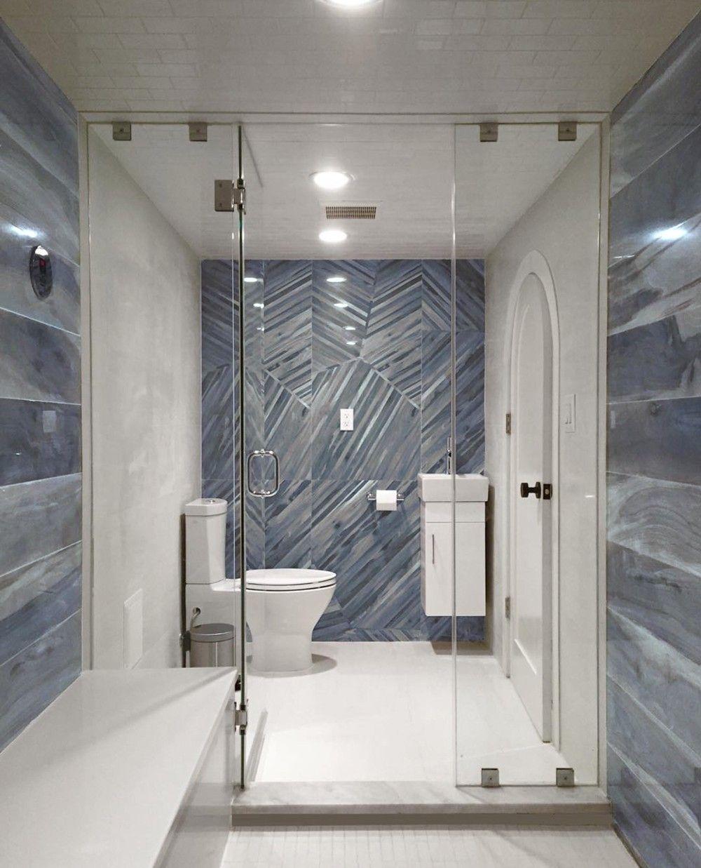 Brazilian Tiger Blue Tech 24x48 Porcelain Tile Tilebar