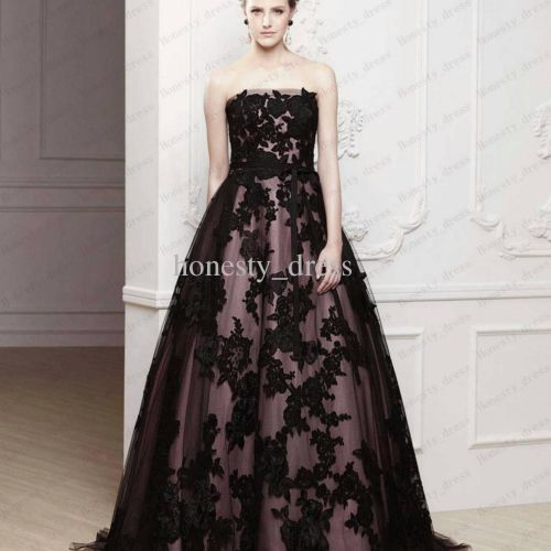 Wholesale 2013 ENZOANI Wedding Dress Black Ball Gown Lace