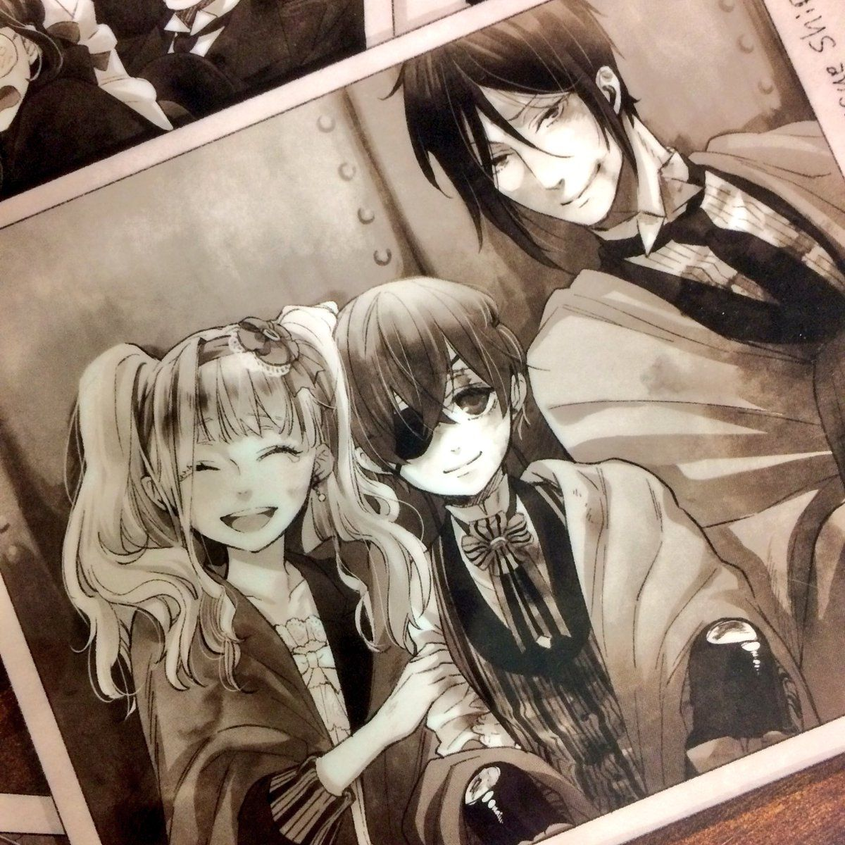 Black Butler/Kuroshitsuji Book of The Atlantic Sebastian