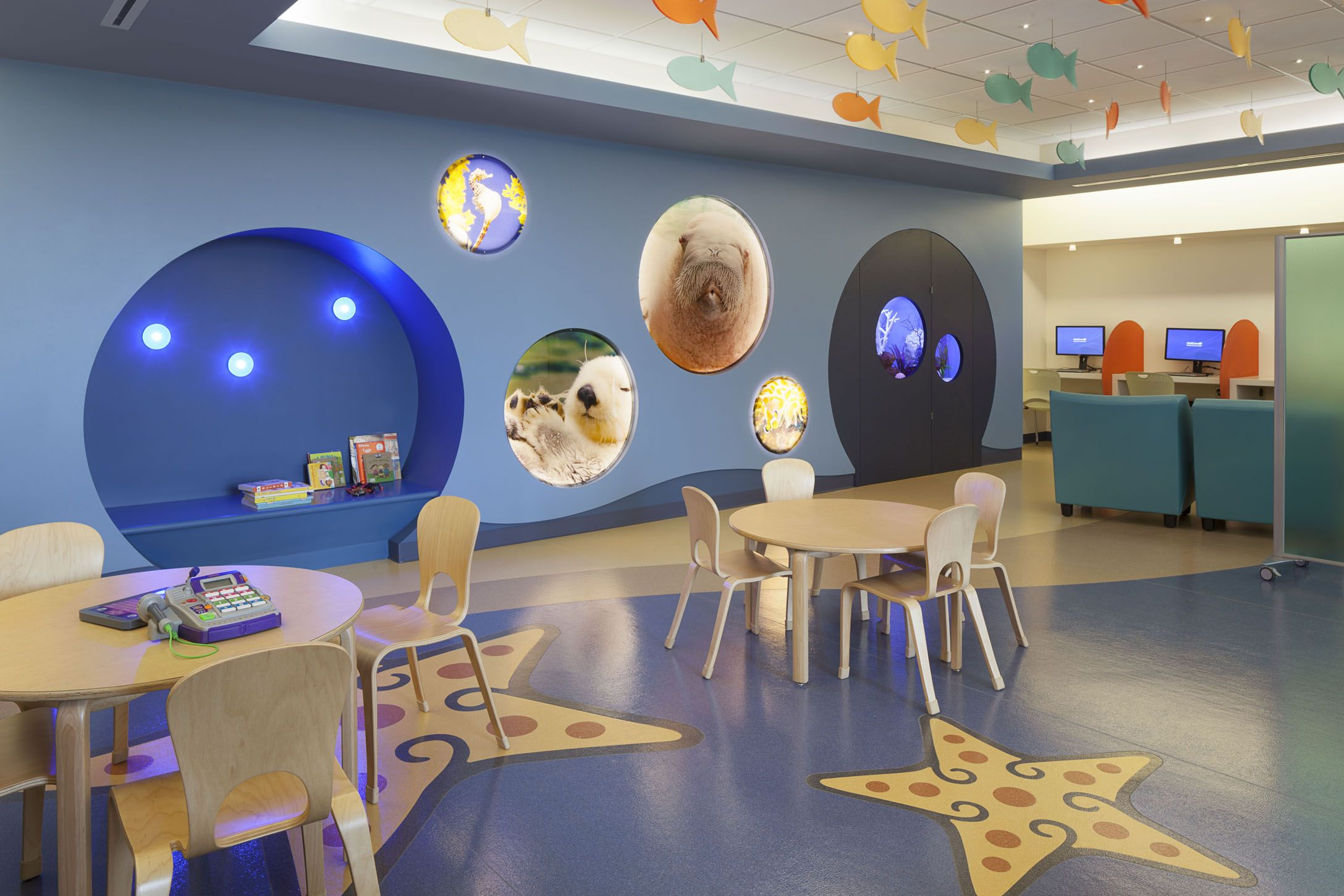 Lobby, Mary Bridge Children's Hospital WA