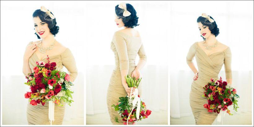Vintage Pin Up Girl Wedding Dresses | deweddingjpg.com