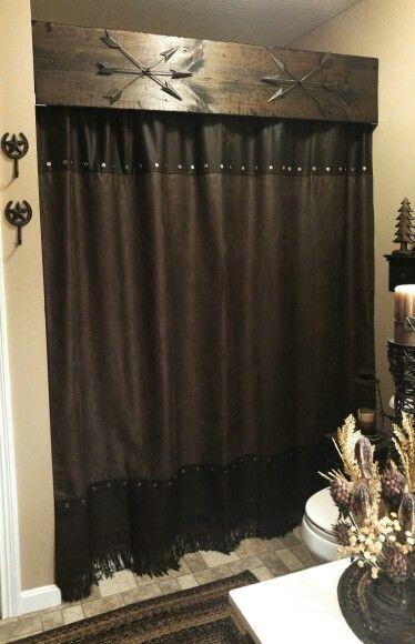 Best 25 Rustic Shower Curtain Rods Ideas On Pinterest