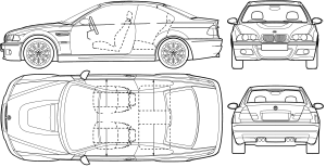 Image result for vehicle Damage Diagram | Butterfly Image