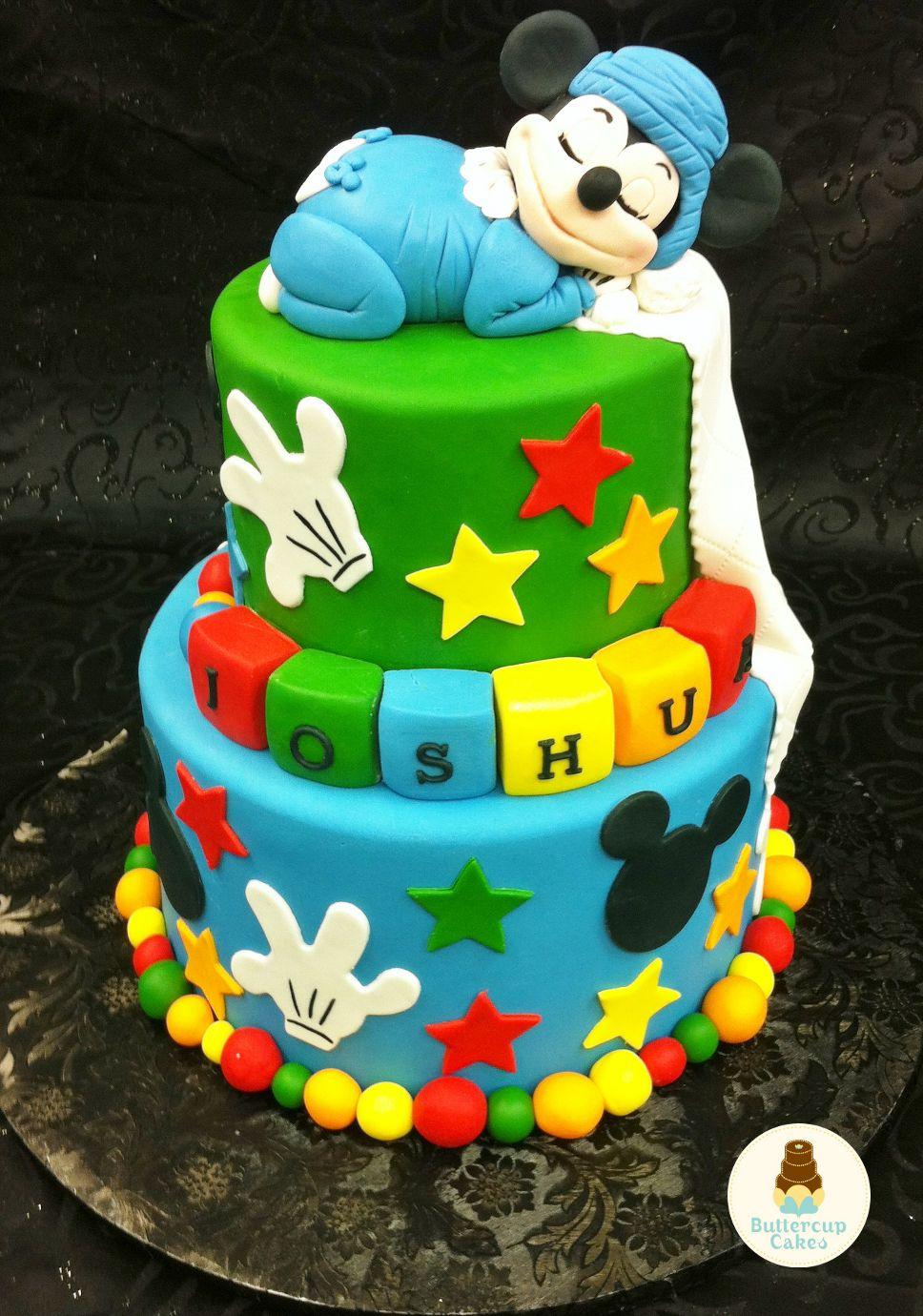 Mickey Mouse Birthday Cake Cartoon & Character Cakes