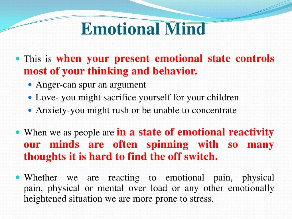 Dbt Mindfulness Emotion Mind