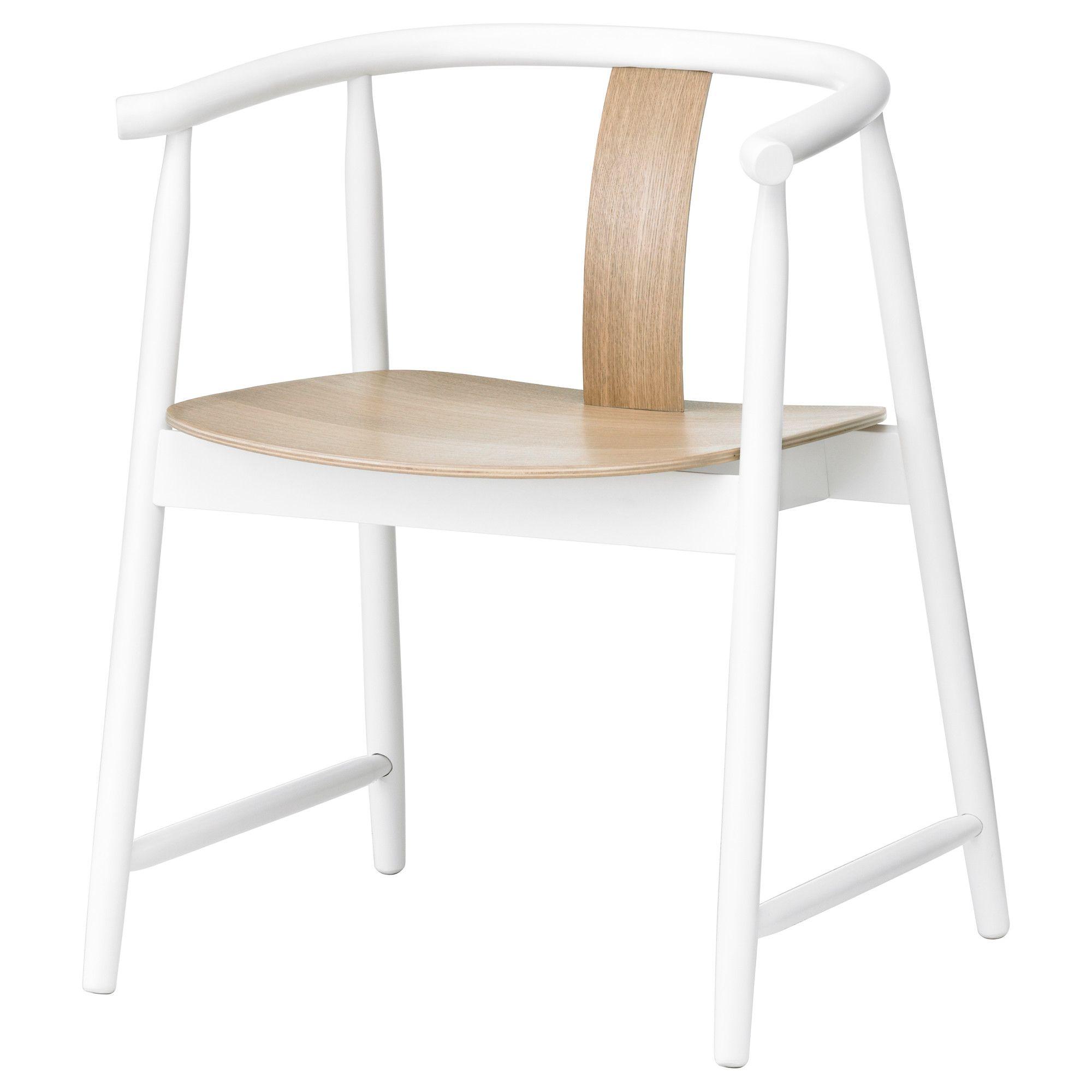 TRENDIG 2013 Armchair white/natural IKEA INTERIOR