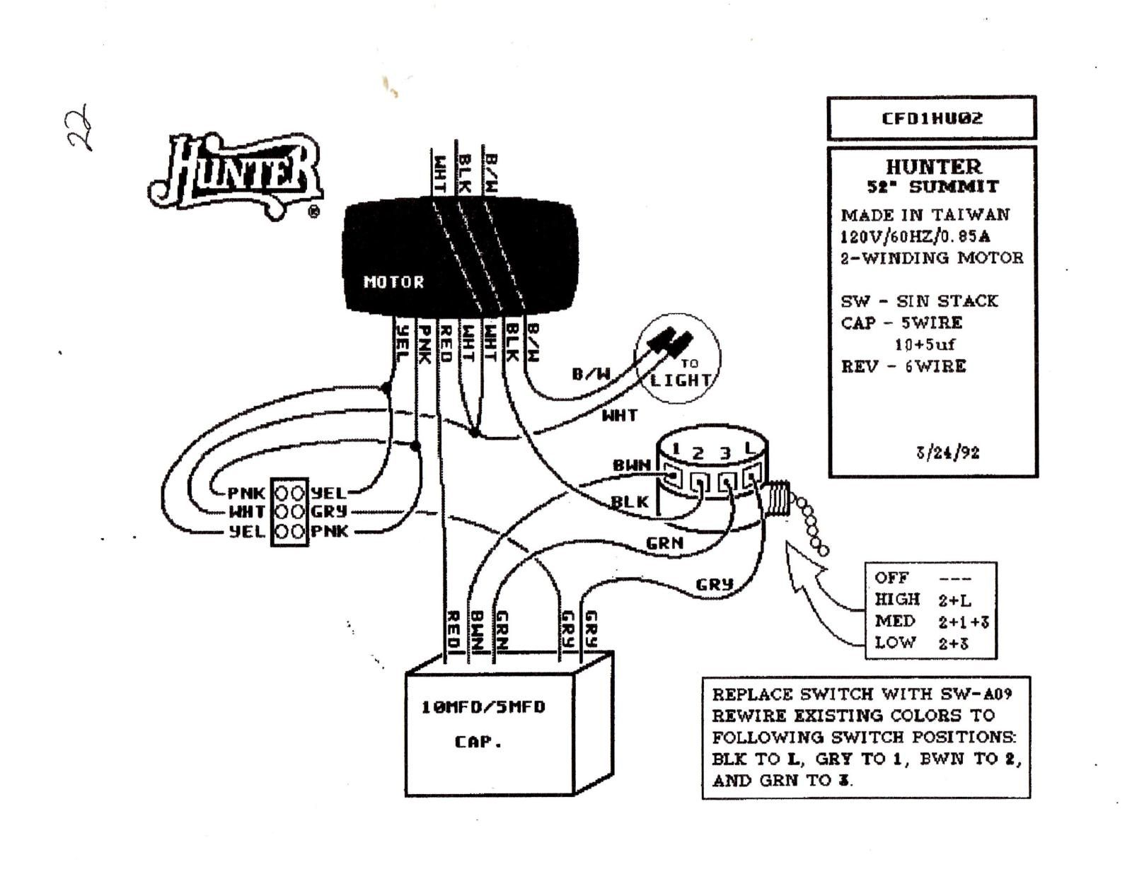 Harbor Breeze Wiring Diagram For Switch