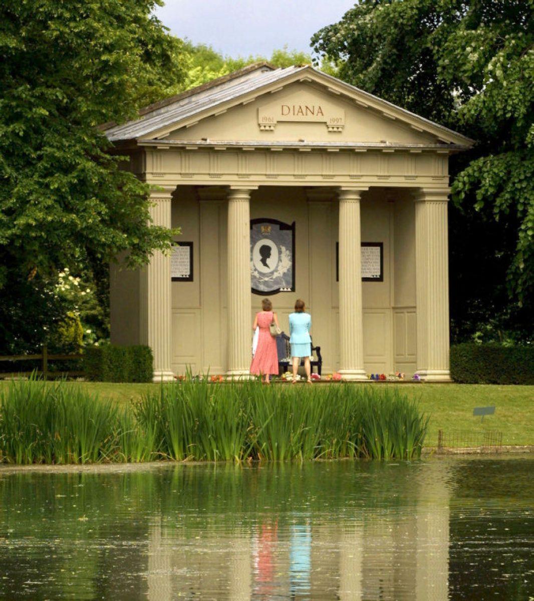 William and Kate visit Princess Diana's grave Princess