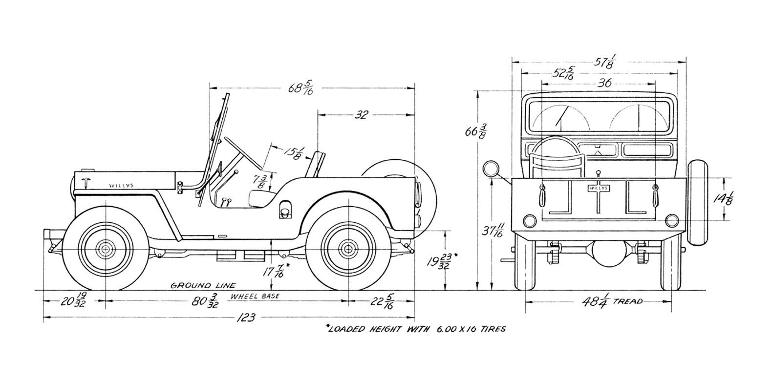 Schematics For Jeep Cj 3a