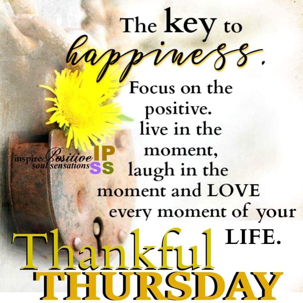 Thankful thursday Good Morning☀️ Pinterest Thankful