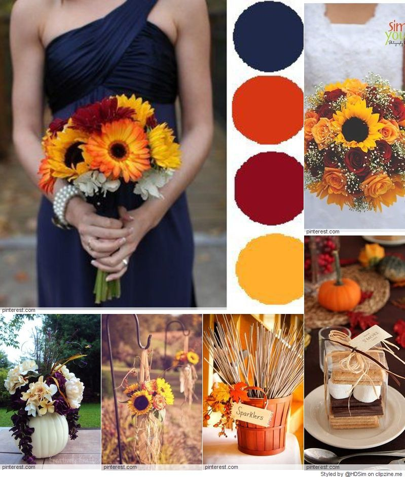 Romantic Fall Wedding Ideas & Inspirations CLIPZINE