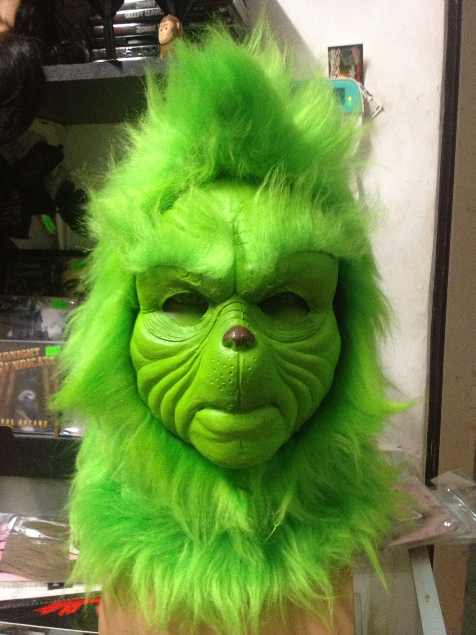 Grinch Mask Alredy finish!! Made iby Disfraces Monalisa