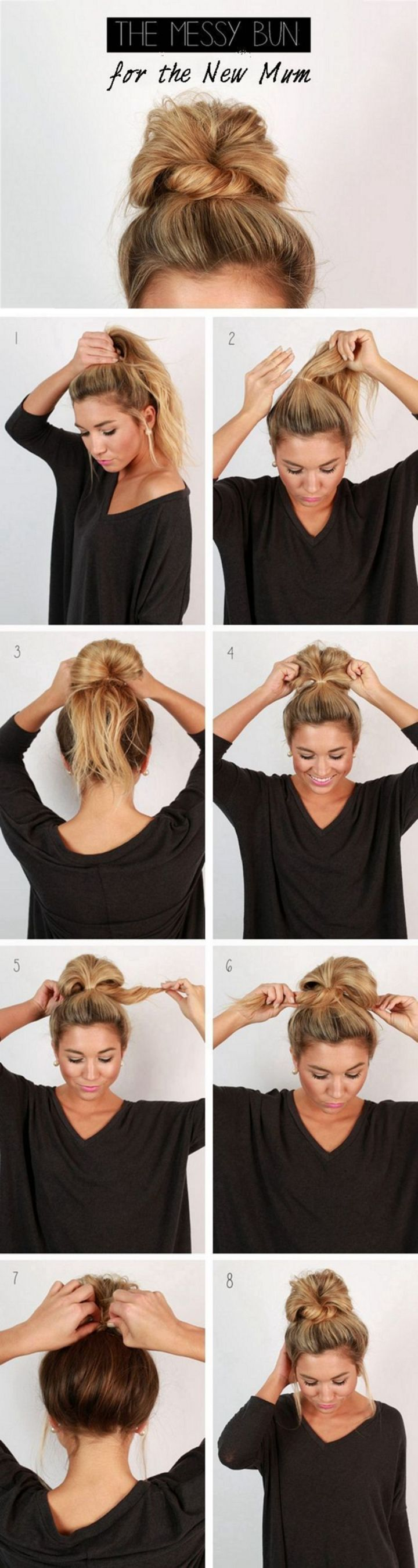 80 Excellent And Super Easy Updos For Long Hair Inspirations