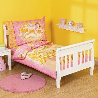 Nojo Disney S Season Of Enchantment 4 Piece Toddler Bedding Set Bed Mattresscribs