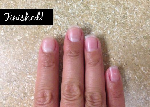 The Twisted Horn How To Remove Acrylic Nails Or Gel Polish At Home