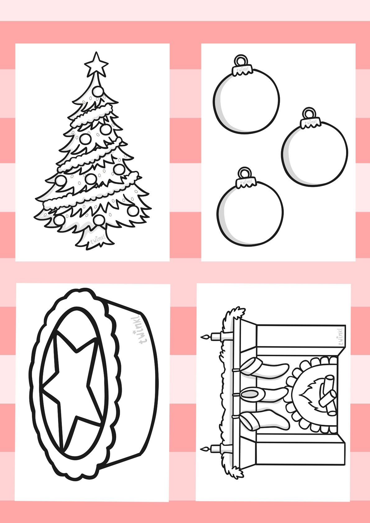 Twinkl Resources Gt Gt Christmas Colouring Sheets