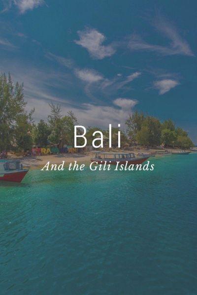 Bali And the Gili Islands | Green landscape, Lush green ...