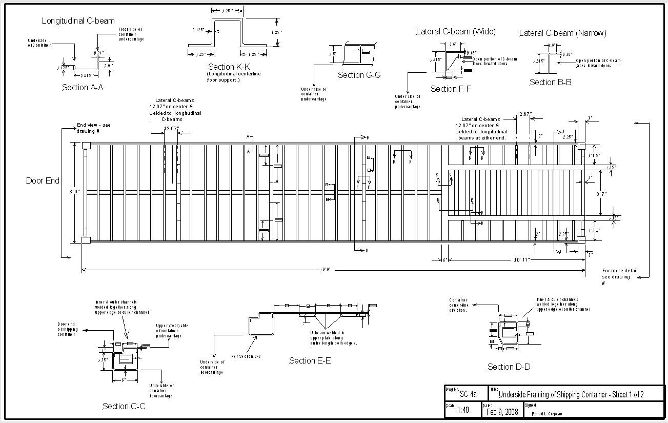 Best Kitchen Gallery: Shipping Container Home Plans And Drawings Home Furniture Design of Shipping Container Drawings Autocad on rachelxblog.com