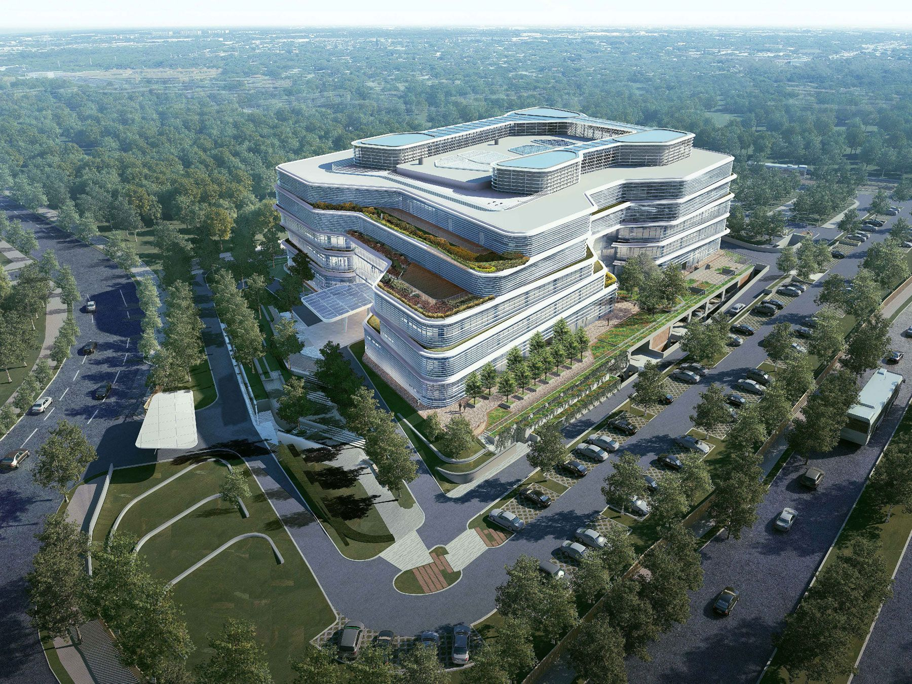 Unilever's Indonesian head office BSD City, Tangerang