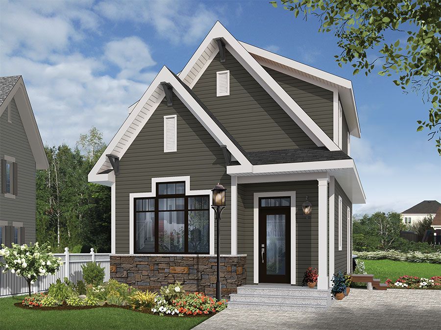 Plan 22402DR Undeniable Curb Appeal Curb appeal