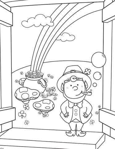 1000 images about st patrick 39 s day coloring pages on pinterest