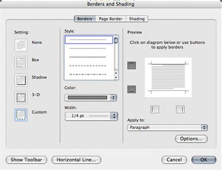 resume borders designs
