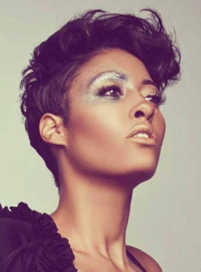 Hairstyles  on Pinterest African American Women Messy