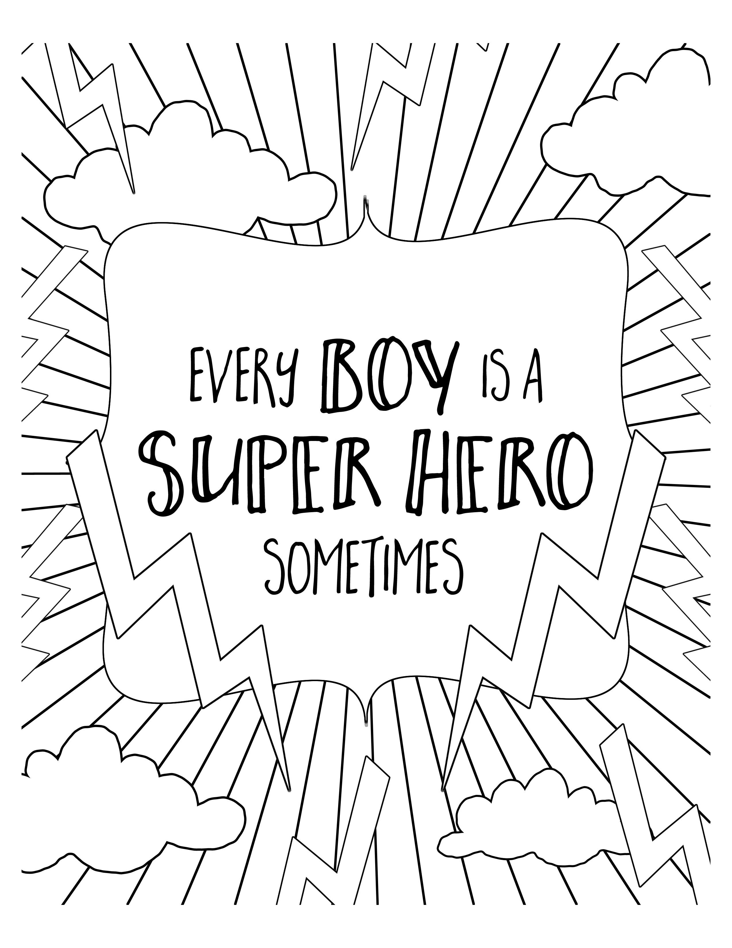 Free Super Hero Coloring Pages Get The Free Download At