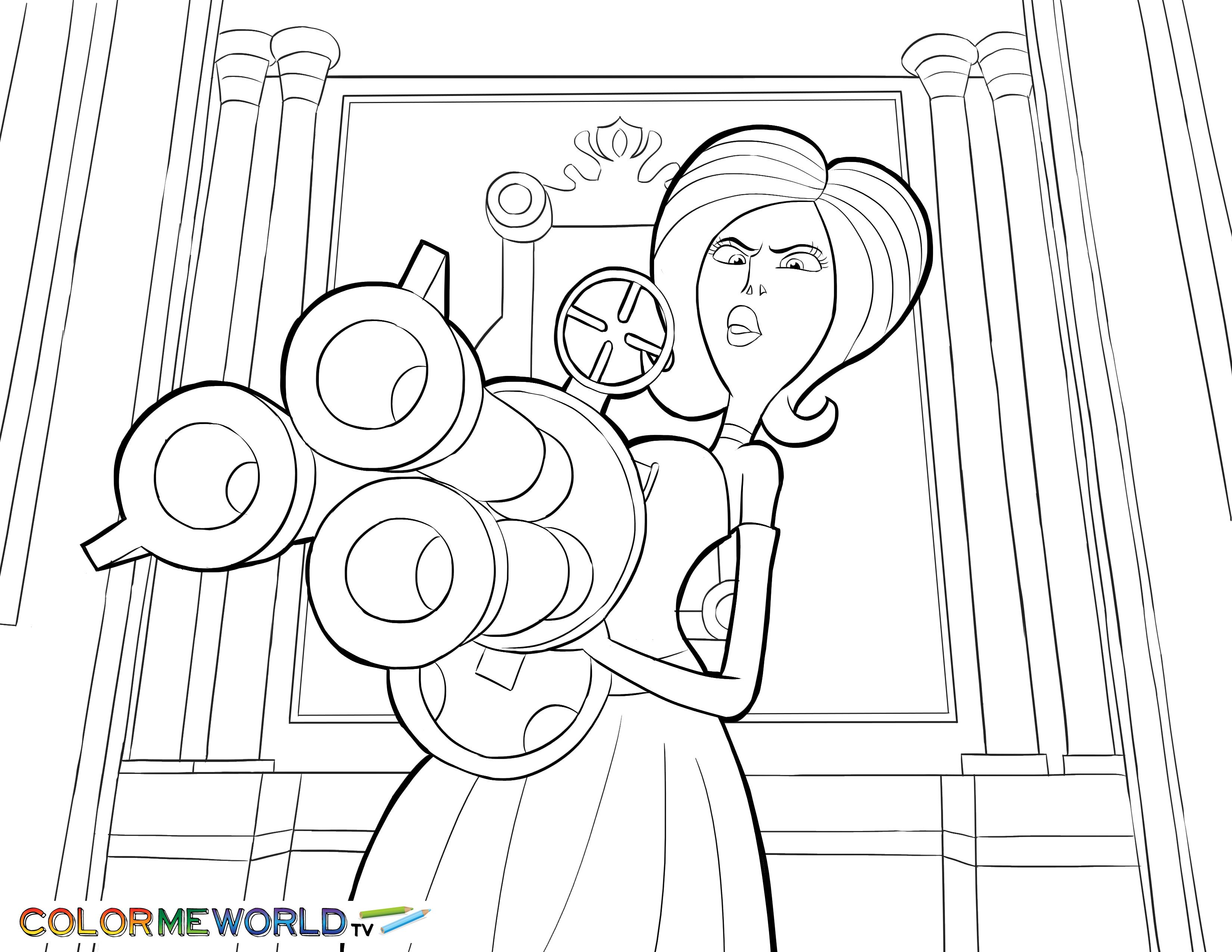 Scarlet Overkill Printable Coloring Page