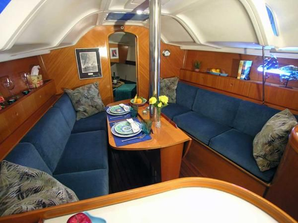 Upholstery In Sailboat Cabins - Google Search
