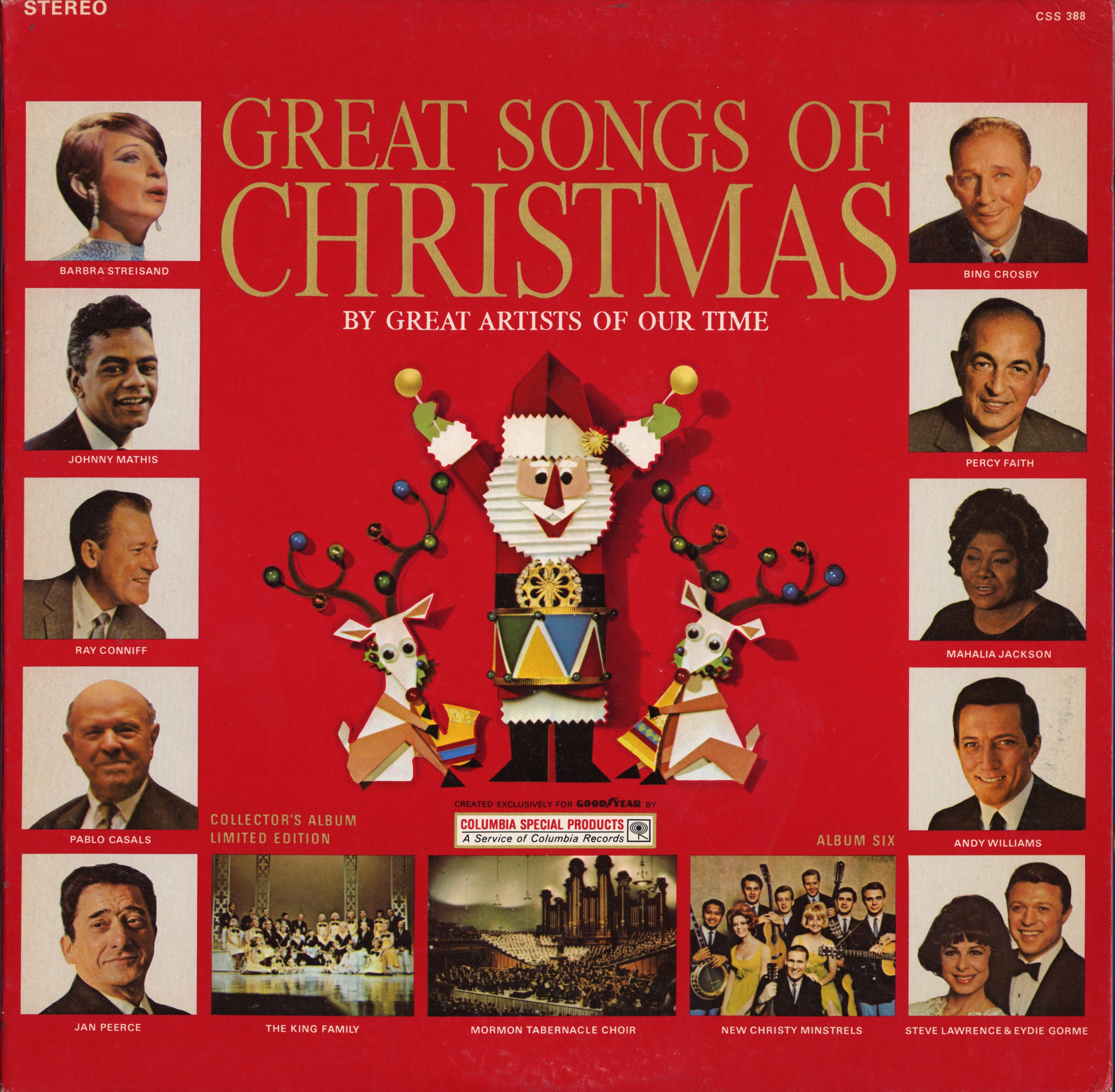 My alltime favorite Christmas album! Crazy About